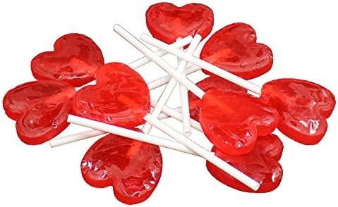 ZAZA bat-bat Corazón Lollipops Kosher – 300 gram (Pack de 2 ...
