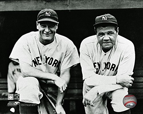 Babe Ruth & Lou Gehrig NY Yankees 8x10 Photo #34 for sale  Delivered anywhere in USA