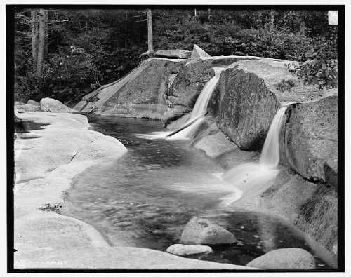 Photo: North Conway,Diana's Baths,waterfalls,White Mountains,New - Nh North Conway Of Map