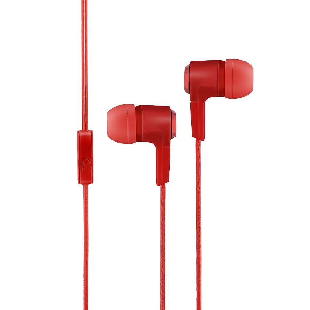 Karooch Earbuds Ear Buds in Ear Headphones Wired Earphone with Microphone Mic Stereo and Volume Control Waterproof Metal Earphone Mp3 Players Tablet Laptop 3.5mm Compatible with iPhone Samsung