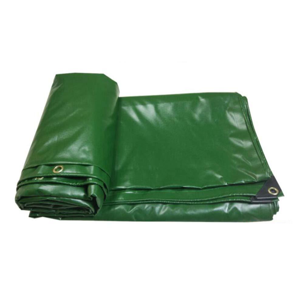 MuMa BÂche Vert PVC épaissir Imperméable Crème Solaire Facile Plier Toile Personnalisé (Couleur   vert, Taille   5  10M) vert 510M