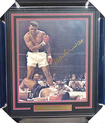 Muhammad Ali Autographed Signed Memorabilia Framed 16x20 Photo Over Liston - Beckett Authentic