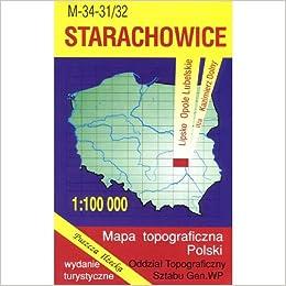 Starachowice Region Map Unknown 9788371351716 Amazon Com Books