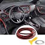 Automobile Car Filler Trim Strip Line,YY-LC Easy Push-In Removable 3D DIY Car Styling Interior Exterior Article…
