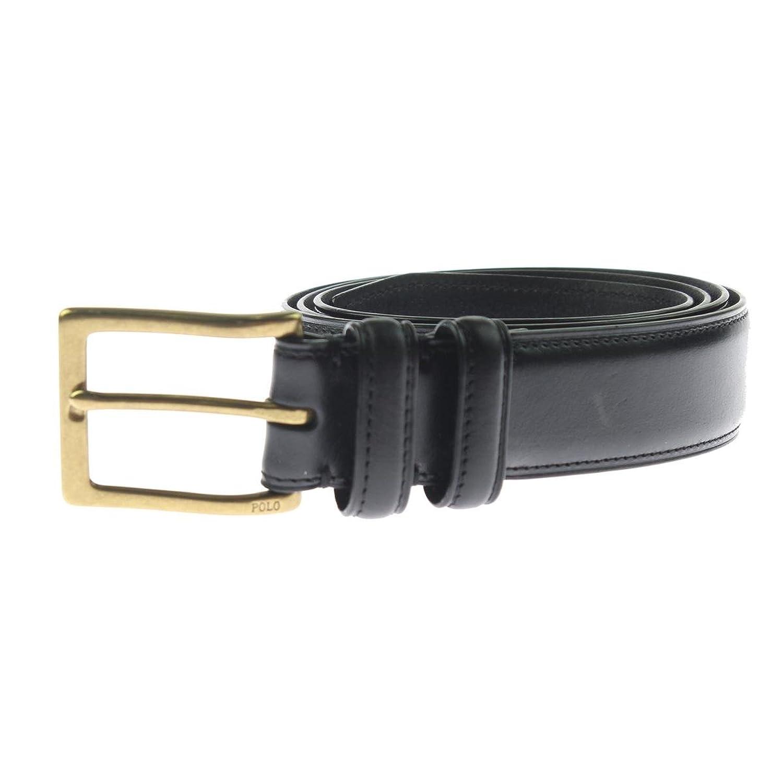Ralph Lauren Mens Square Buckle Belt
