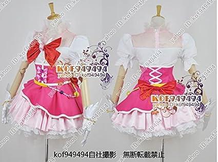 魔法つかいプリキュア!☆キュアミラクル ダイヤスタイル コスプレ衣装 男女XS,XXXL オーダー可能