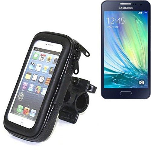 Montaje de la bici para Samsung Galaxy A5, montaje del manillar para smartphones / teléfonos móviles, de aplicación universal. Conveniente para la bicicleta, motocicleta, quad, moto, etc. repelente al