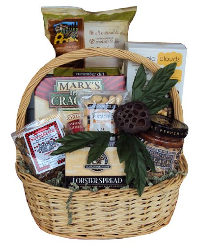 (Low) Sugar Daddy Healthy Father's Day Gift Basket by Well Baskets by Well Baskets