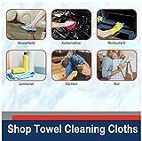 """Simpli-Magic 79256 Shop Towels 12""""x14"""", 50"""