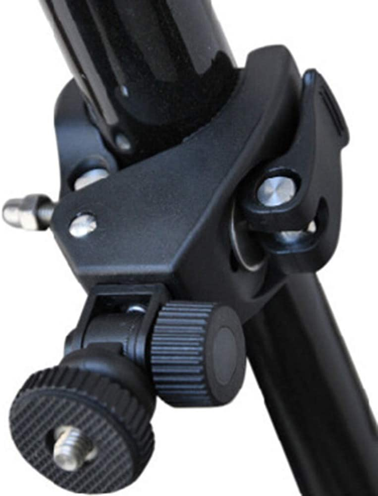 scgtpapadc Universal Rotating 1//4 Screw Bicycle Camera Adapter Mount Holder for Phone GoPro