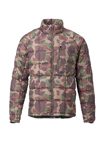 Burton Men's AK BK Down Insulator Jacket, Kodiak Camo, Small