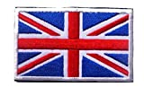 world war two british helmets - GREAT BRITAIN FLAG BRITISH UNION JACK UNITED KINGDOM EMBROIDERED PATCH UK VELCRO PATCH (2)