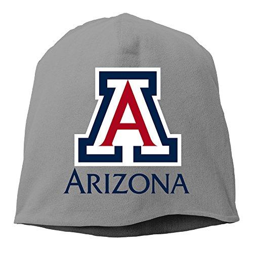 YUVIA University Of Arizona Men's&Women's Patch Beanie Hip-HopDeepHeather Cap Hat For Autumn And Winter