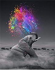 Puzzels Houten puzzel van 1000 stukjes voor volwassenen of kinderen Dierlijke olifant Grote puzzel Speelgoed Creatief kunstwerk Cadeau voor woondecoratie Elk stuk is uniek