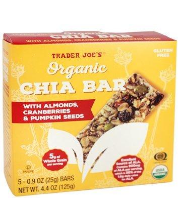 Comerciante Joe s Orgánica Chia con almendras, arándanos, y ...