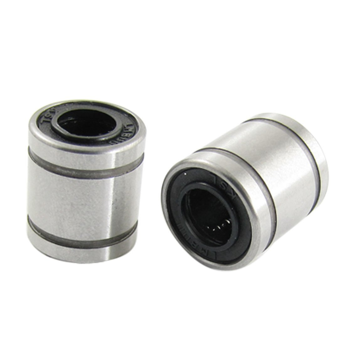 sourcingmap 2 Pcs 8mm x 15mm x 17mm Linear Motion Ball Bearings US-SA-AJD-13679