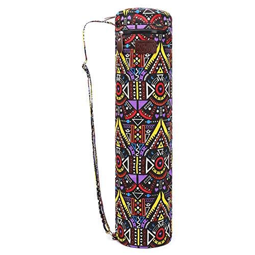 Fremous - Bolsa para Esterilla de Yoga y transportadores para Mujeres y Hombres - Bolsillos de Almacenamiento multifunción portátiles de Lona para ...