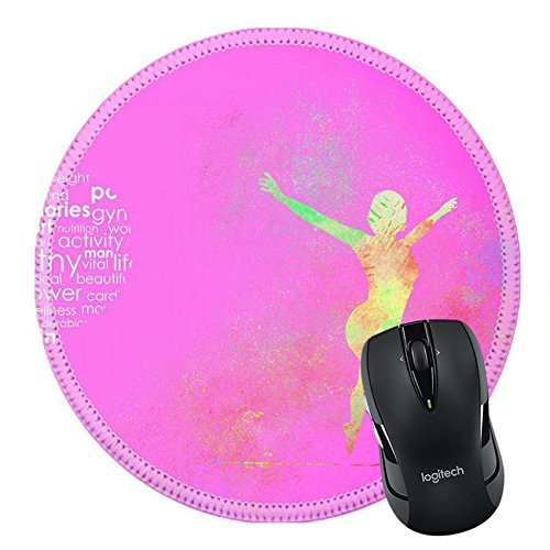 MSD Natural Rubber Mousepad IMAGE ID 32459188 Fitness Abstract Background