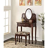 ACME Furniture 90211 Aldine Vanity Set, Espresso