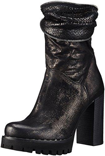 A S Schwarz Stiefel Bloc 98 Nero Damen 66qUr