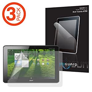 """3-Pack MiniSuit Anti-Glare Screen Protector for Acer Iconia A510, A700 10.1"""" Inch Touchscreen Tablet"""