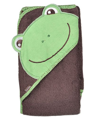 Frenchie Mini Couture Frog Extra Large 100 cm X 75 cm Absorbent Hooded Towel