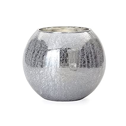 Amazon Torre Tagus 901622 Crackle Mirror Sphere Vasecandle