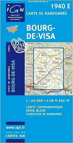 Bourg De Visa Gps Ign1940e Amazon Fr Livres Anglais Et
