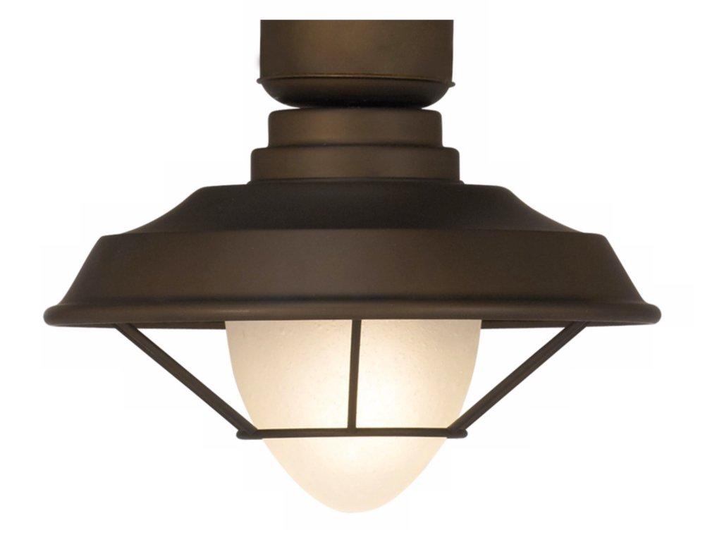 Casa Vieja Bronze Outdoor Ceiling Fan Light Kit
