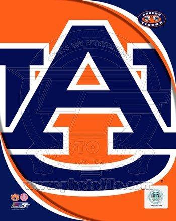 Photofile PFSAAOK09601 Auburn University Tigers Team Logo Poster by Unknown -8.00 x 10.00