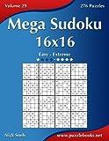 Mega Sudoku 16x16: Easy to Extreme