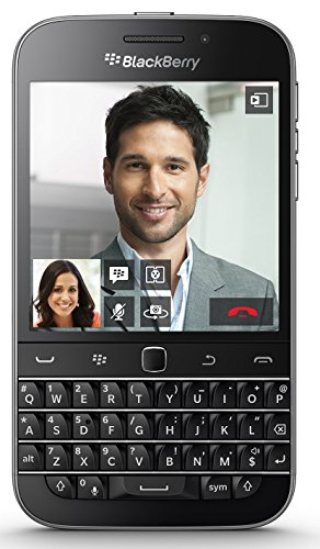 BlackBerry Classic Q20 SQC100-2 16GB AT&T 4G LTE Physical Keyboard Smartphone - Black
