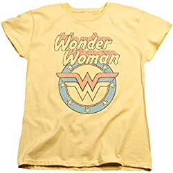Womens: Wonder Woman - Faded Wonder Ladies T-Shirt Size M