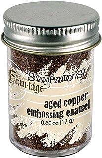 Stampendous Emaille Aged Pr/ägung 0,60/oz-Rose