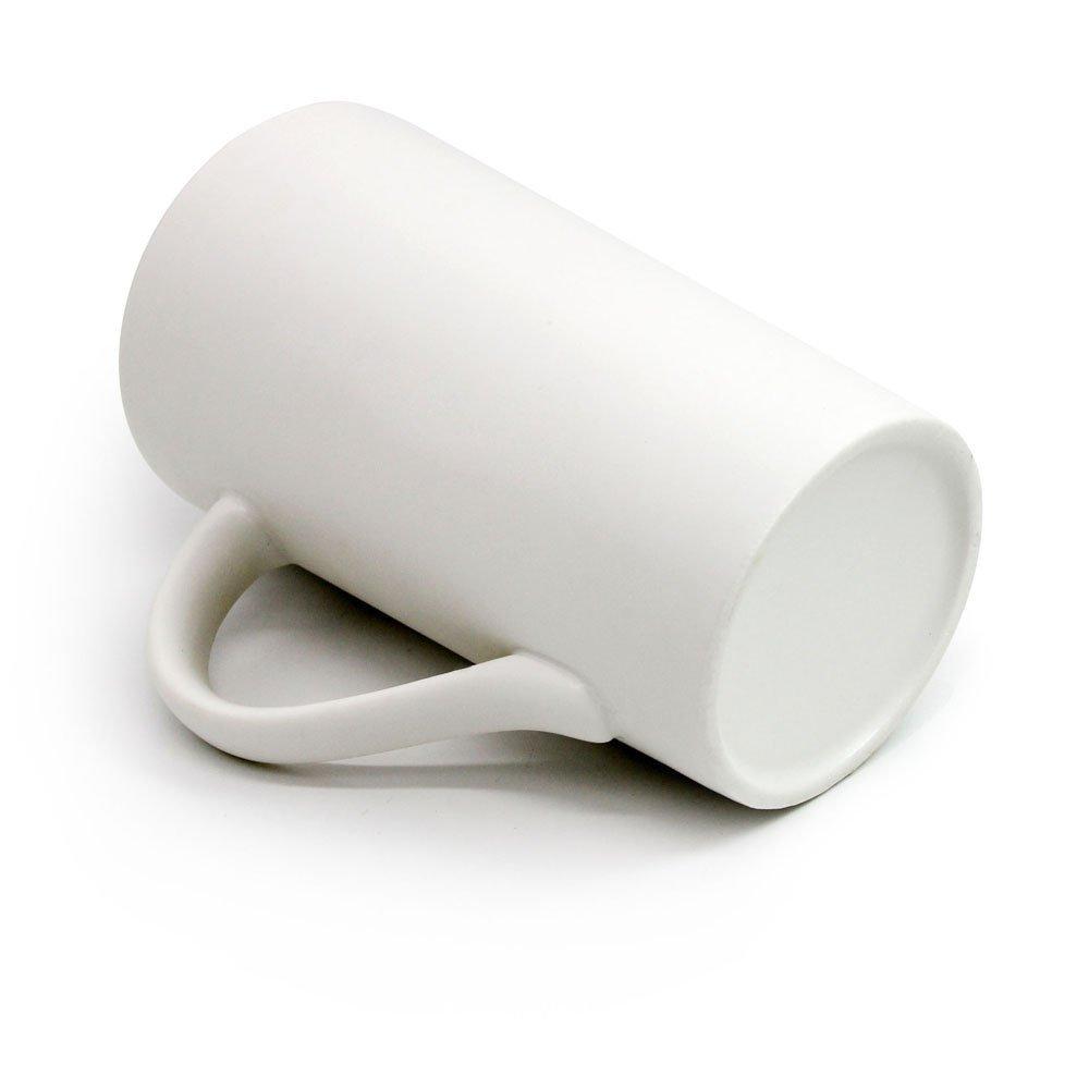 Momugs Simple Pure Milk Mug, White Ceramic Coffee Cup, 16 oz… 16 oz… SYNCHKG083572