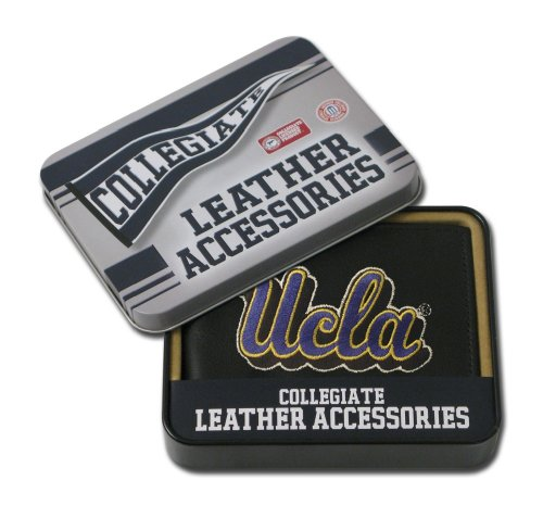 NCAA UCLA Bruins Embroidered Leather Billfold Wallet