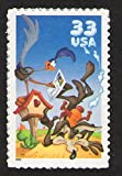 Wile E. Coyote & Road Runner Looney Tunes Sheet of 10 33-Cent Stamps, US, Scott 3391