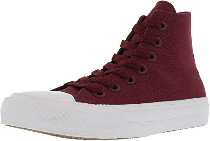 Converse Chucks (Chuck Taylor) All Star High Top Unisex Damen Herren Dunkles Bordeaux Rot