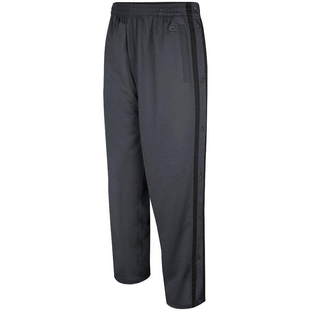 db5605c5fd23f9 Amazon.com  Colosseum Mens Tearaway Athletic Pants (Charcoal Black)  Sports    Outdoors