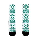 Medical coding and billing is a tough job but someone needs to do it! Show that you've got the stuff to be a Medical coding super hero with this pair of socks. This medical coding themed pair of socks features illustrations of a medical cross and the...