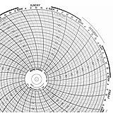 Honeywell 24001661-001 10'' Chart Paper, 0-100, 7 Day; 100/Pk
