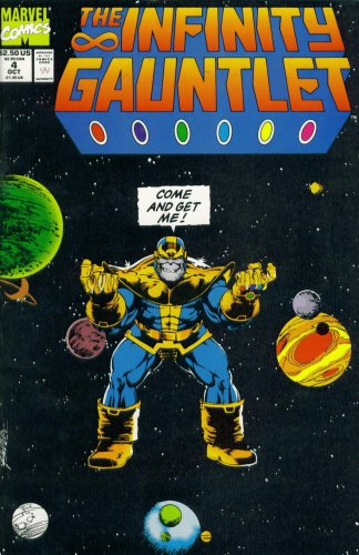 The Infinity Guantlet #4 : Cosmic Battle On The Edge Of The Universe (Marvel Comics) for $<!---->