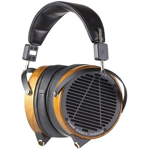 AUDEZE LCD-2 High Performance Planar Magnetic Headphones, Shedua Wood Ear Cups, Leather Free Earpads by AUDEZE
