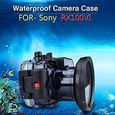 Sea Frogs - Funda para cámara de buceo Sony RX100 (sumergible ...