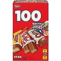 NESTLÉ MINIS Assorted Bars - KITKAT, Coffee Crisp, AERO, Smarties - 1.02kg (Pack of 100 Mini Bars)