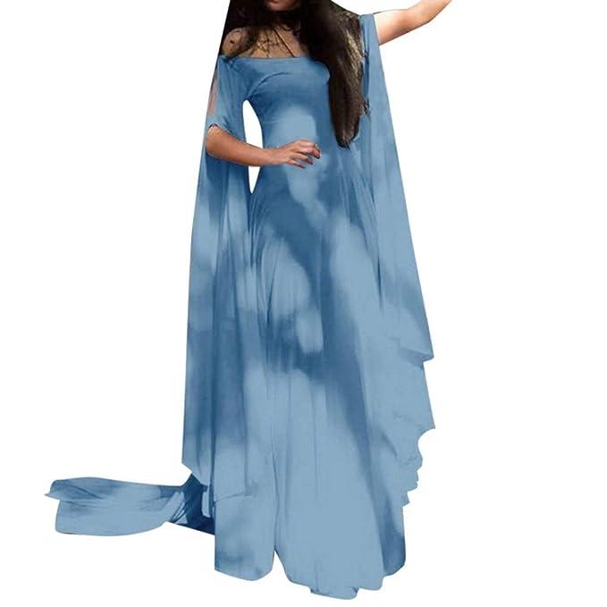 355cde3ab837a Amazon.com: MILIMIEYIK Blouse Womens Irish Medieval Dress ...