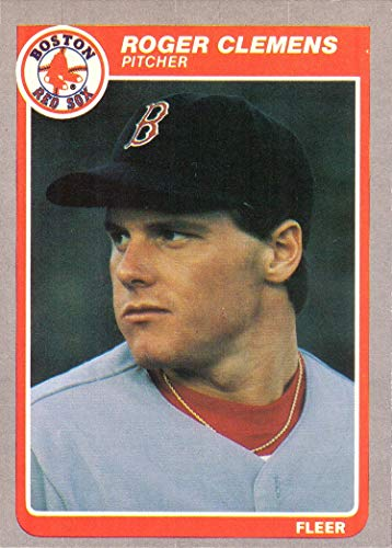 (1985 Fleer Baseball #155 Roger Clemens Rookie Card )