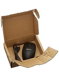 Basics mouse de USB de 3 botones con cable (Negro)