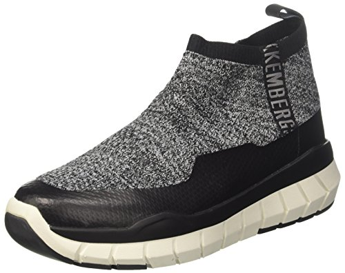 Bikkembergs Fighter 2094, Men Slip On Grey (Grey 400)