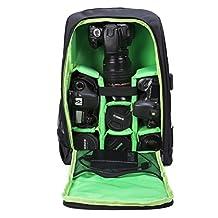 G-raphy Camera Backpack Camera Bag Padded Laptop Backpack for DSLR SLR Cameras
